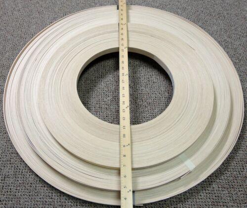 "1MM thick wood edgebanding Beech or Cherry or Walnut 7//8/"" x 120/"" no adhesive"