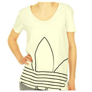 New da Adidas Large Clover T donna Stripe 3 Originals shirt wpUfF