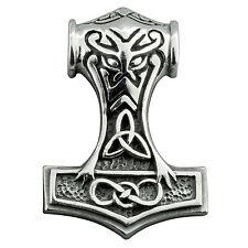 20g. 925 Sterling Silver Norse Wikinger Thor's Hammer Mjolnir BELDIAMO anhänger