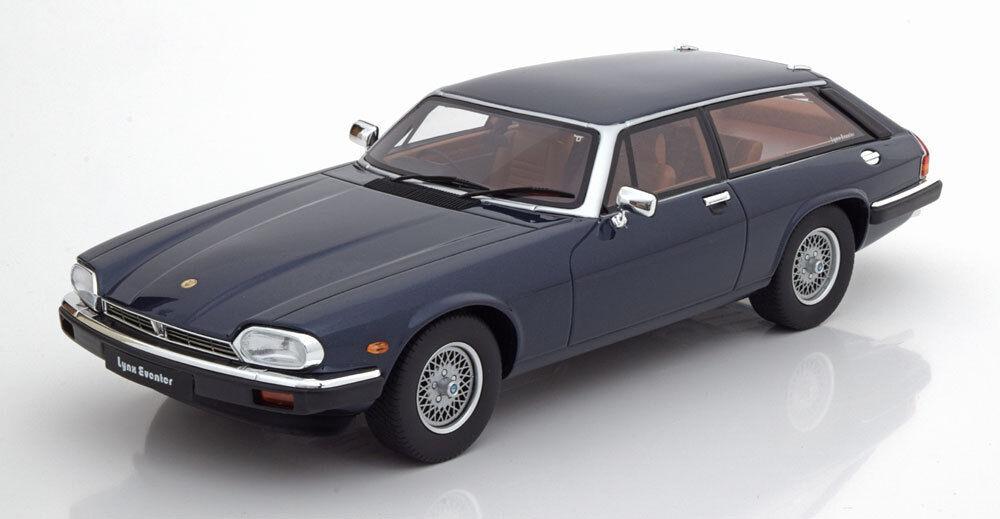 GT SPIRIT 1982 JAGUAR XJS LYNX EVENTER bleu foncé Le de 200 1 18 NOUVELLE VERSION