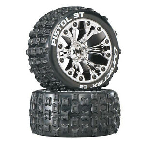 Wheel DT... Rustler Bandito ST 2.8 C2 Tire 2 NEW Duratrax Traxxas Stampede