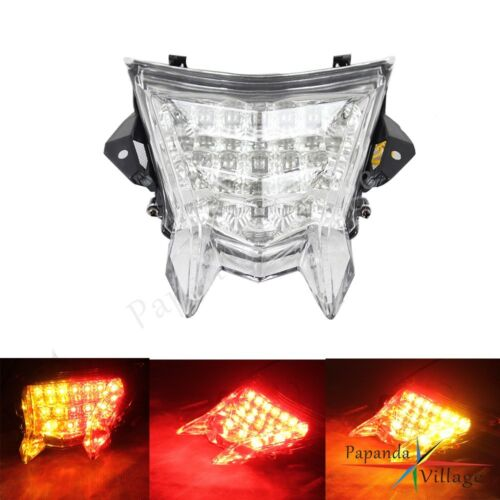 Arrière 1x DEL Tail Lights clear integrated turn signals pour BMW S1000RR S1000R HP4