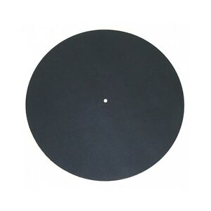 Pro Ject Leather It Turntable Slipmat Meather Mat Black
