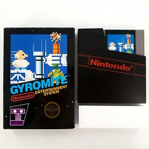 Gyromite-Nintendo-Entertainment-System-1985-Authentic-Boxed-No-Manual-Tested
