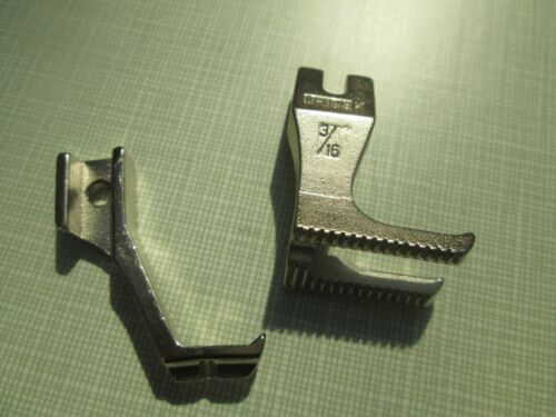 """NEW 3//16/"""" Piping Feet For Typical GC0331-DCX Walking Foot M//C."""