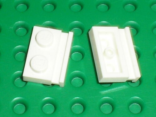 LEGO white plates with door rail 32028 set 10189 10224 10197 10225 5974 75053
