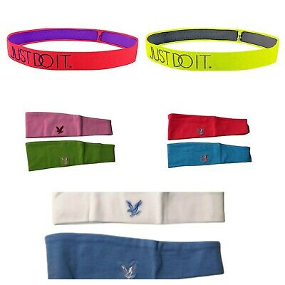 Lyle /& Scott Womens Headband Headband Blue//Salmon OS LSHB01