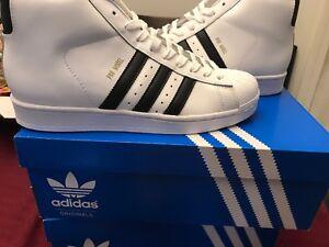 47b63755bb1752 adidas Big Kids Originals Pro Model J Fashion Sneaker Size 7 ...