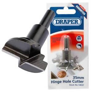 Draper Hinge Hole Cutter 35mm 14037 4766