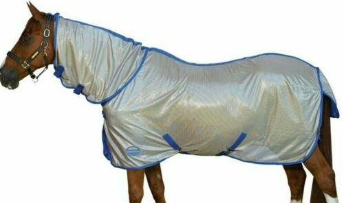 """WeatherBeeta Genero Mesh Fly Rug Combo 5'3""""  rrp~£49 Grey//Purple"""