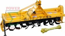 """48"""" ROTARY TILLER - 3 Point Hitch Mounted - PTO Driven-4FT With SHAFT"""