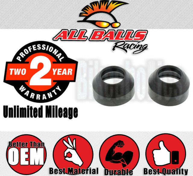 All Balls Racing Fork Dust Cap Set for Yamaha YZ