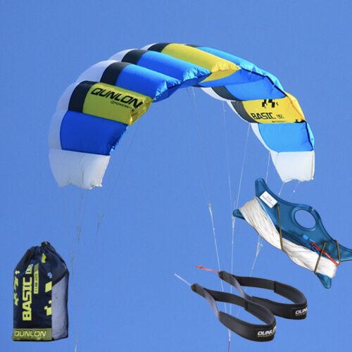 Professional 4Sqm 4 Line Power Traction Kite for Adults Kitesurfing Landboarding