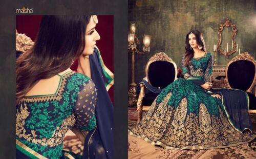 di Il Anarkali 4705 completamente designer Bollywood adatta si Maisha cucito al vestito wOq5H61On