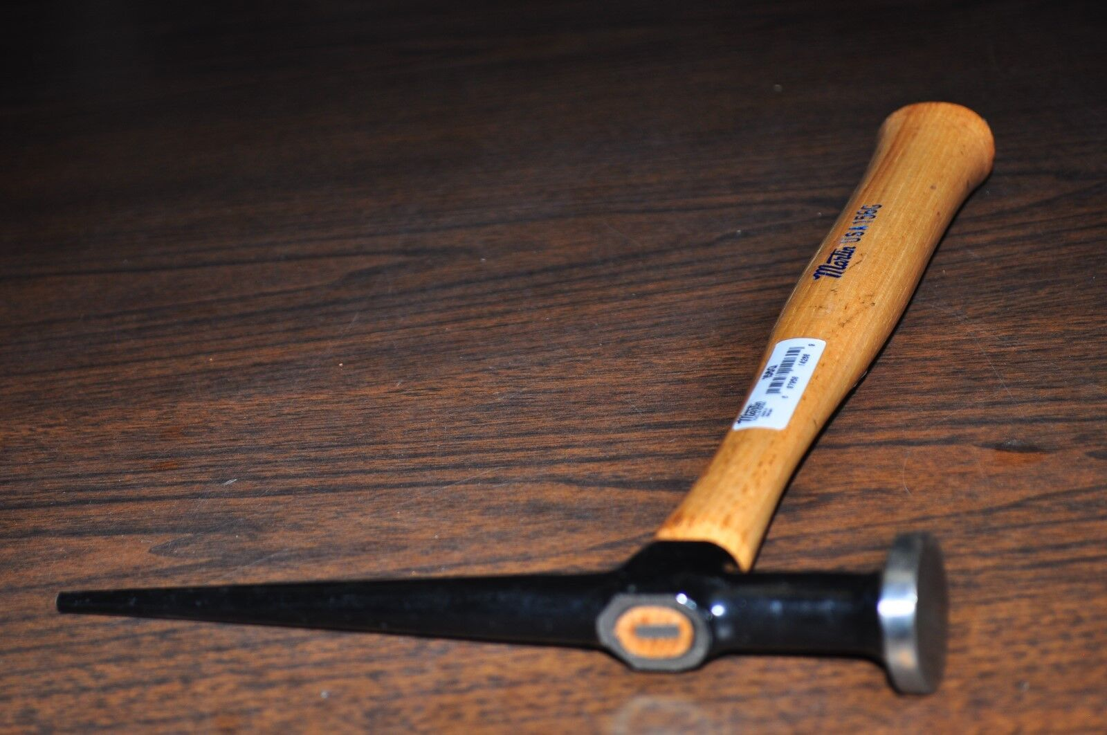 AUTO BODY LON PICK HAMMER W//ROUND DING HEAD WOOD HANDLE MARTIN 156G  MADE IN USA