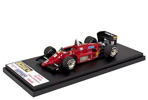 Kings Models 1 43 1985 Ferrari 156 85 Italian Grand Prix Stefan Johansson