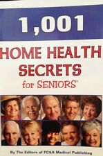 1,001 Home Health Remedies for Seniors by FC&A Publishing Paperback New