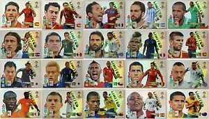 Panini-Adrenalyn-XL-FIFA-Brasil-World-Cup-WM-14-2014-Limited-Edition-Auswahl