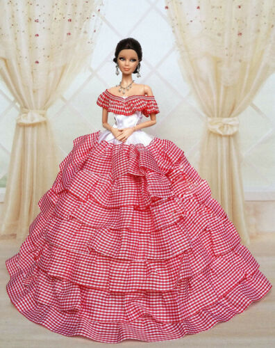 Doll c12 Fashion Royalty Princess Dress//Clothes//Gown For 11.5 in