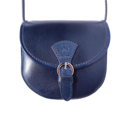 Tasche aus italienischem Leder in Hand in Italien 224 db Umhängetaschen