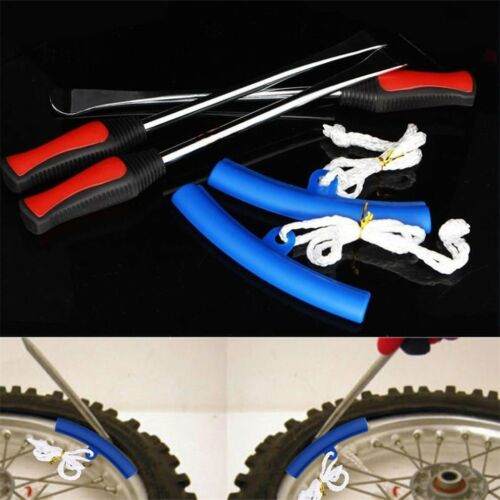 Spoon Motorcycle Tire Iron Irons Changing Rim Protector Tool Combo New Case HX