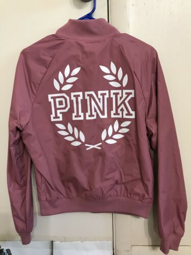 Begonia aviateur classique Soft Xs à glissière Secret Manteau Blouson Outwear Victoria's rose Fqxawngv