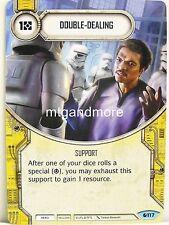 Star Wars Destiny - 3x #117 Double-Dealing - Spirit of Rebellion