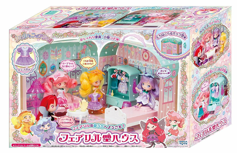 Nuovo Sega Toys Riruriru Fiera Lil Casa Giapponese Giocattolo Molto Carino F/S