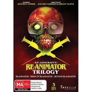 Re-Animator-Trilogy-Bride-of-Re-Animator-Beyond-Re-Animator-H-P-Lovecraft-DVD