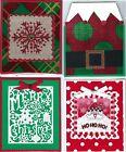 Handmade CHRISTMAS GIFT CARD/MONEY HOLDERS #C$-1--Lot of 4