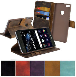 Original-Suncase-Cell-Phone-Case-Flip-Case-Leather-Cover-For-Huawei-P10-Lite