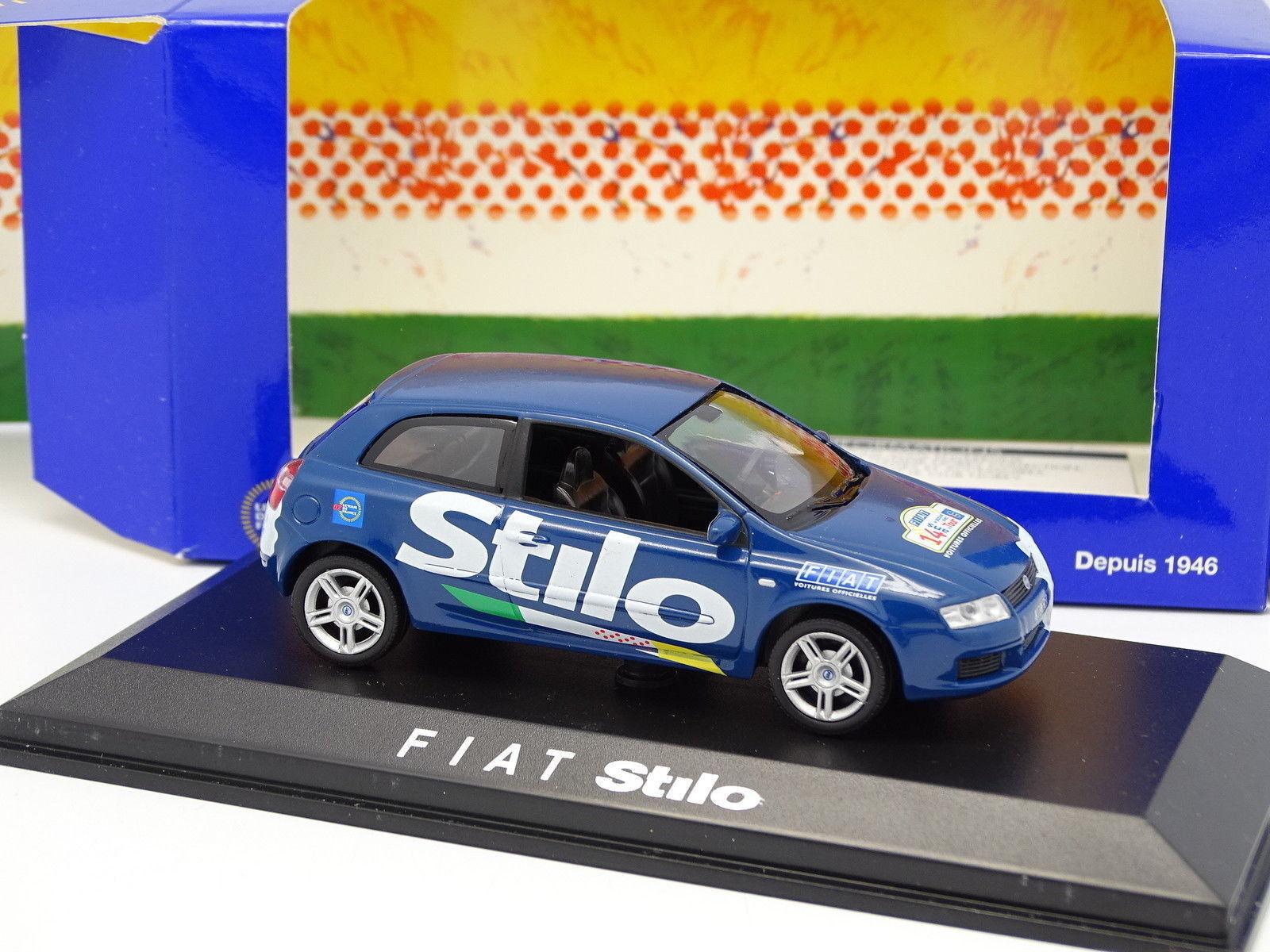Norev 1 43 - Fiat Stilo Car Official bluee Tour de France 2002