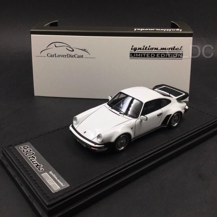 Ignition Model 1 43 Porsche911 (930) Turbo White IG0936