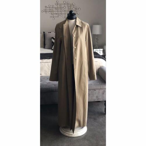 SANYO NEW YORK Woman's Rain Trench Coat Jacket Siz
