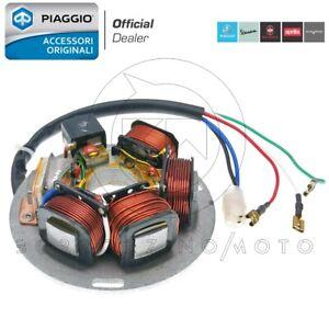 BOBINE-STATORE-MAGNETE-VOLANO-ORIGINALE-PIAGGIO-VESPA-PX-125-150-200-ELECTRONIC