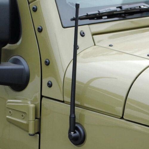 "Reflex 13/"" AM FM Radio Antenna for Jeep Wrangler JK JL 2007-2018 Rugged Ridge US"