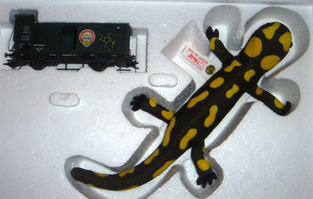 Märklin 48806 Steiff Salamander carrello speciale Steiff NUOVO