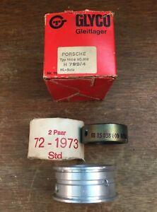 Glyco Standard Engine Bearing Set for Porsche 356 C SC 912 1600 Crank Case