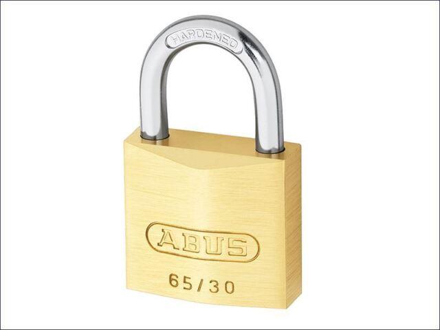 ABUS - 65/35 35mm Brass Padlock Carded