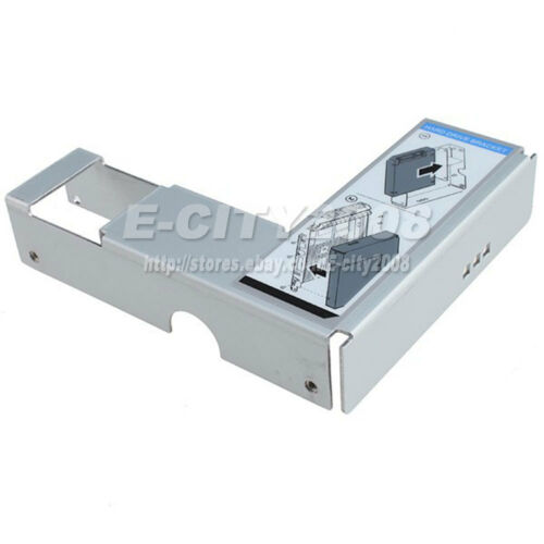 """2.5/"""" To 3.5/"""" Adapter Bracket for Dell PowerEdge R410 Caddy Hot-Swap US Seller"""