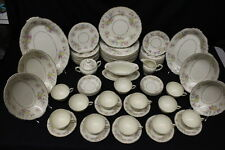 73 Pc Vintage Syracuse Federal Shape China BRIARCLIFF Floral Service for 12, USA