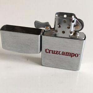 CRUZCAMPO-MECHERO-LIGHTER-ACCENTINO-FEUERZEUG-BRIQUET