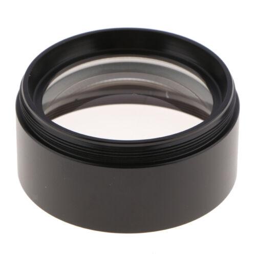 "0.75X Auxiliary Barlow Objective Lens for Stereo Microscopes 1-7//8/"" Thread"