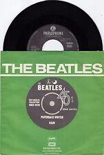"THE BEATLES PAPERBACK WRITER / RAIN NM RARE RECORD YUGOSLAVIA 7"" PS 45 rpm"