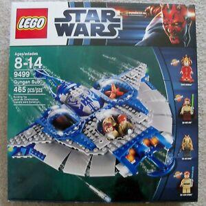 LEGO-Star-Wars-Rare-Gungan-Sub-9499-Queen-Amidala-minifig-has-been-removed