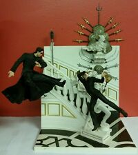 Mcfarlane Toys Matrix Reloaded Deluxe Diorama Neo Chateau Fight Scene