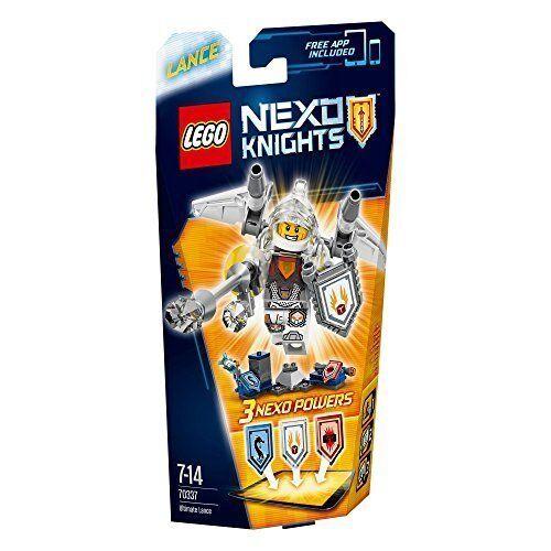 Nexo knights Lance 70337 free app included 3 nexo powers