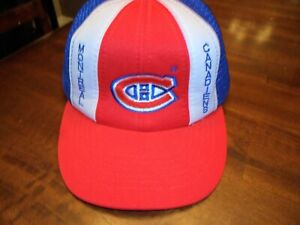 Vintage Montreal Canadiens Patch Toque