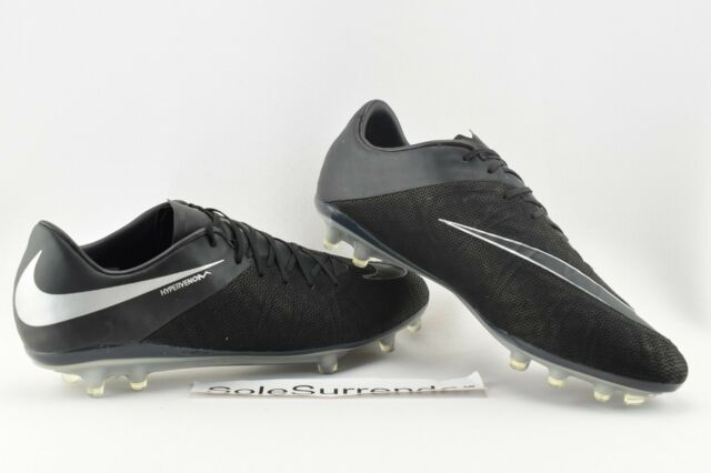 uk availability b5a49 e34b7 ... top quality nike hypervenom phinish tc fg size 11 new 852474 001 boots  silver 53799 f5a91