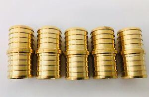 10-PCS-1-034-PEX-Coupling-Brass-Crimp-Fitting-LEAD-FREE